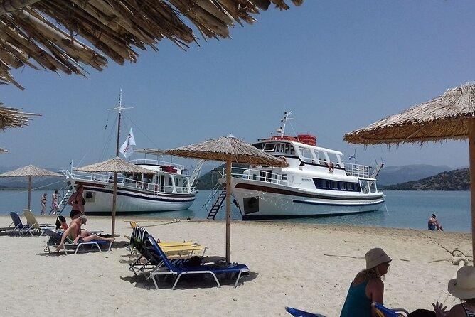 Corfu boat trip to Kalamas and Syvota