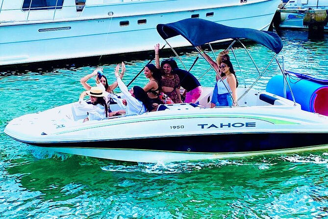 3-hour boat tour with Aquarius Boat Rental | captain & gas paid separately