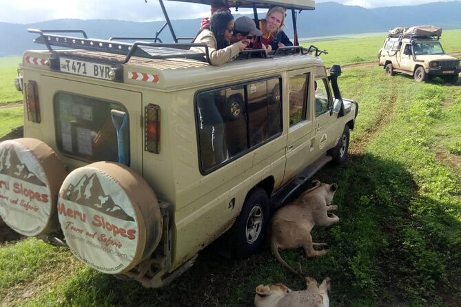 5 Days Camping Tarangire, Serengeti & Ngorongoro crater & Visiting Maasai