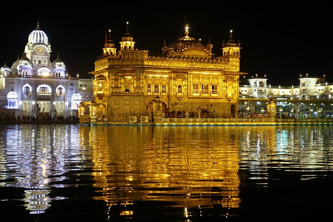 Amritsar Golden Temple and Wagah Border Ceremony Private Tour