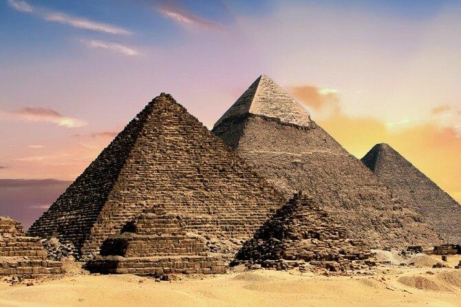 Giza Pyramids, Sakkara and Memphis Day Tour