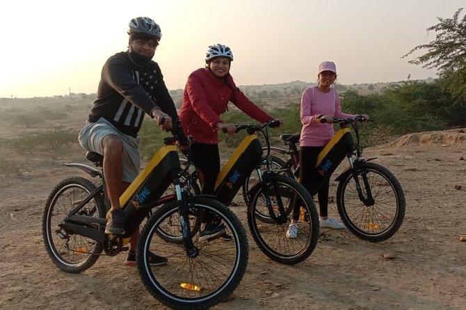 Jewel of Thar Desert E-bike Tour in Jaisalmer