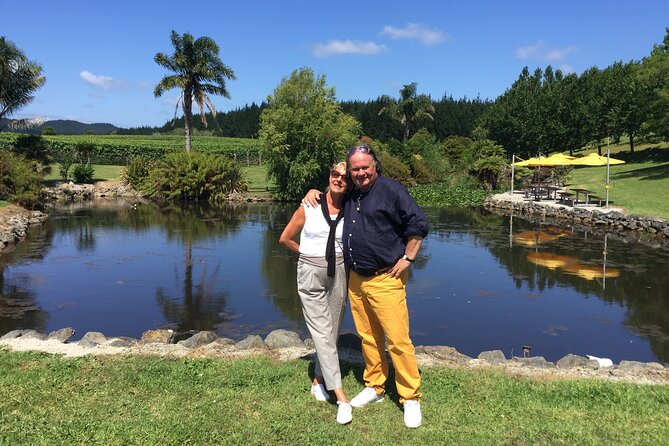 Wineries Honey and Black Sand Beaches from Auckland