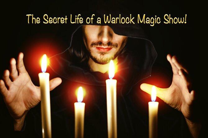 Secret life of a Warlock Magic Show at Las Vegas Magic Theater