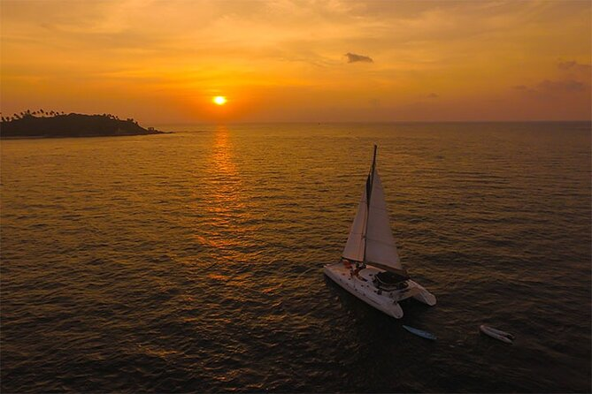 Coral Island and Sunset trip by Luxury Catamaran From Phuket