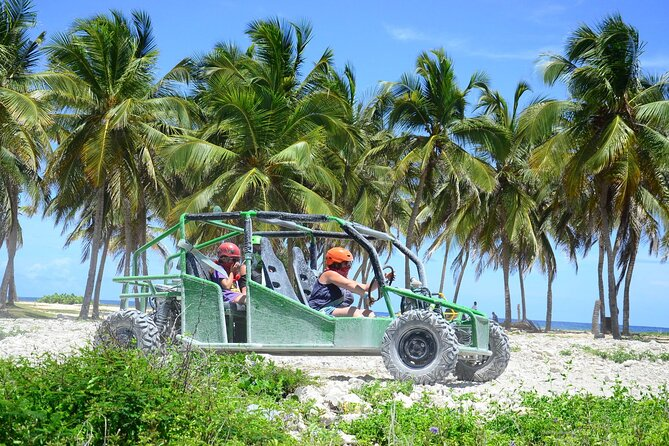 Buggy Ride and Waterfall Pool at Bavaro Adventure Park