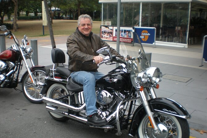 Private Brisbane Harley Sightseeing Tour