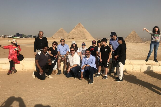 Private Day Tour to Giza pyramids and the Egyptian museum from Alexandria by car