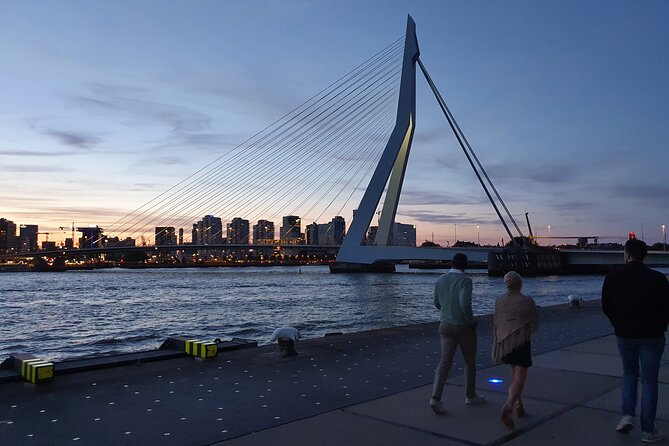 Walking tour Rotterdam hotspots, architecture and history, full of fun facts!