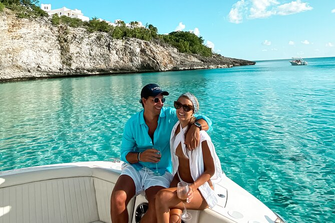 Private Full-Day Luxury Boat Tour in St. Maarten with Lunch