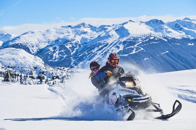 Whistler Wilderness Run Snowmobile Tour