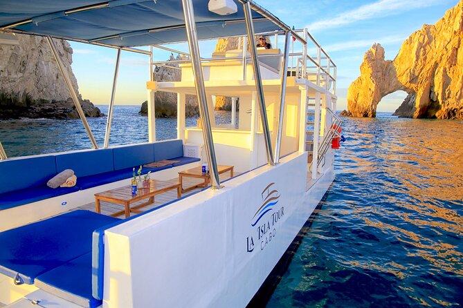 Catamaran private snorkel tour Cabo san Lucas