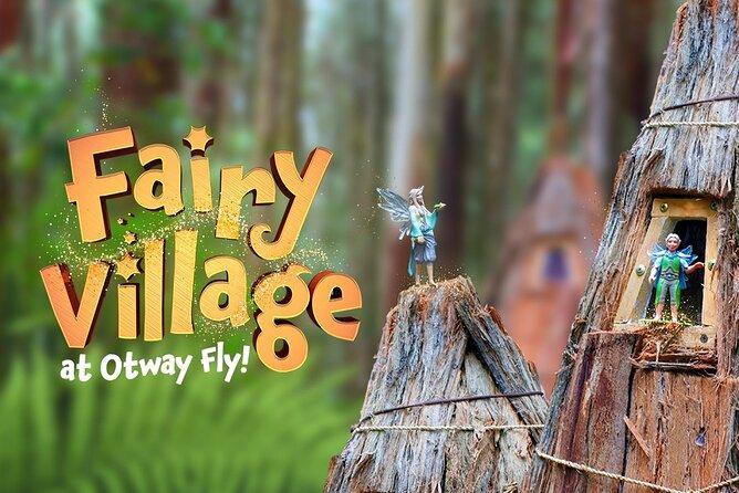 Otway Fly Treetop Adventures Entrada a la caminata Treetop Walk
