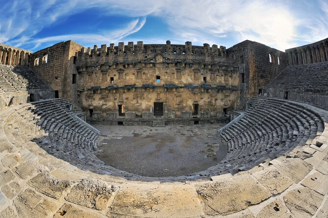 Guided Tour to Perge, Aspendos, Side and Kursunlu Waterfalls