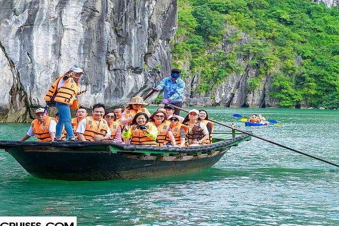 Swan Cruise Halong Bay 3Days 2Night on 4 Star Cruise