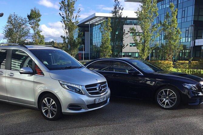 Edinburgh Half Day Guided Private Tour in a Premium Mercedes Minivan