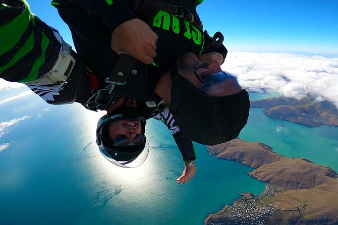 Helicopter Skydiving Adventure in Christchurch