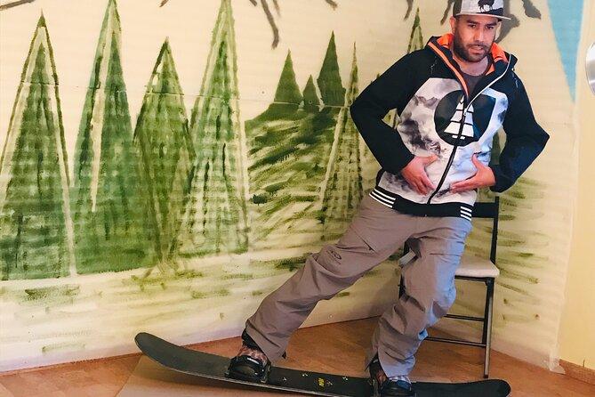 Online Snowboard, Snowboard Park & Ski Lessons for beginners.