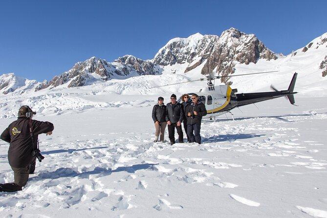 Fox or Franz Josef Glacier including snow landing (allow 20 minutes)