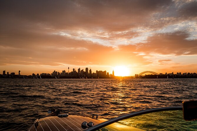 Private Sunset Cruise on Sydney Harbour for up to Six Guests