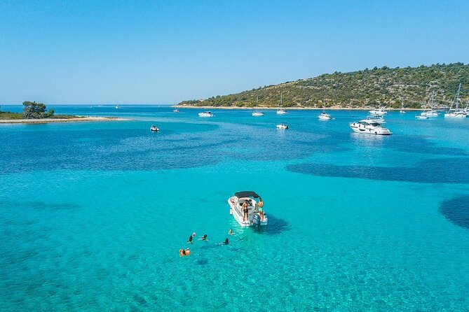 Adriatica Tour ( Blue Lagoon and Solta) from Trogir or Split
