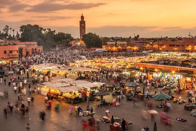 Marrakech: historical and cultural tour, souks and monuments