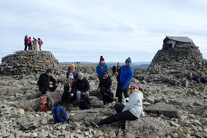Group Walk up Ben Nevis from Fort William