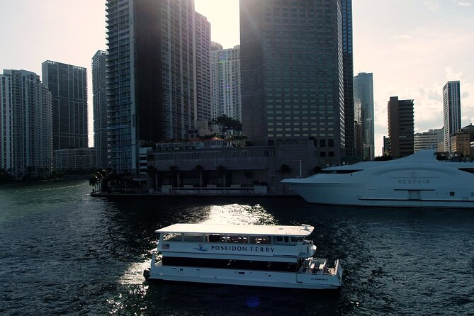 Ferry Service between Miami and Miami Beach