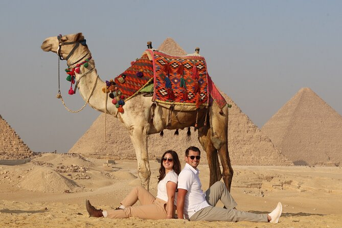 Full Day Tour to Explore Giza Pyramids, Saqqara and Memphis City