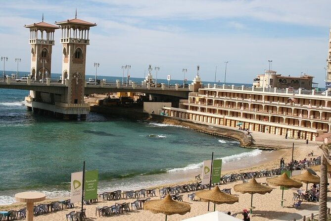 Private Full-Day Tour: Alexandria Historical Sites from Cairo