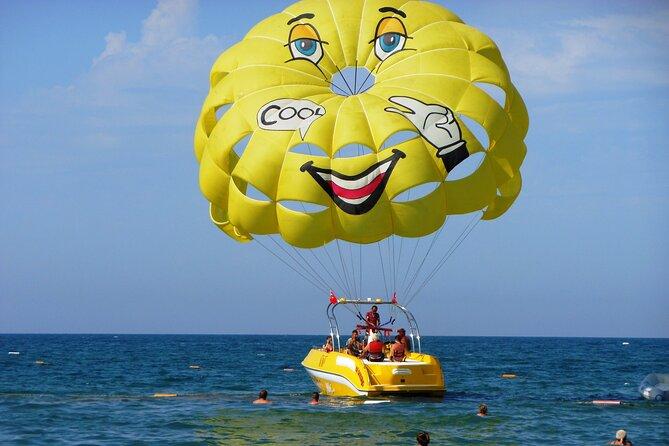 The Best Parasail Adventure W/ free jet ski &Transport