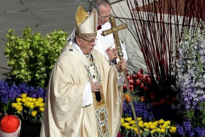 Easter Mass with Pope Francis at Vatican