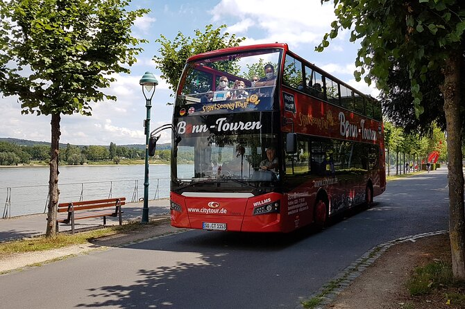 City Tour Bonn and Bad Godesberg in a double-decker bus