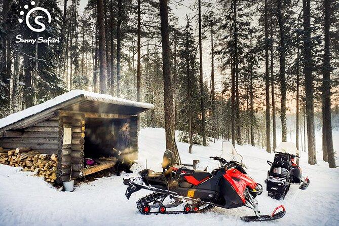 Snowmobile Safari & Ice Fishing