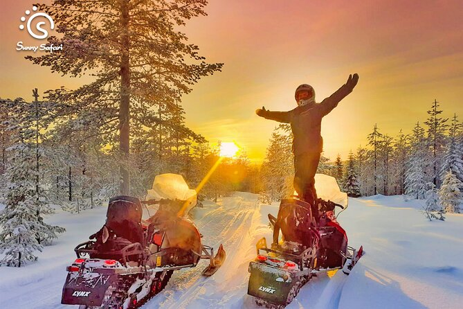Snowmobile Whole Day Adventure