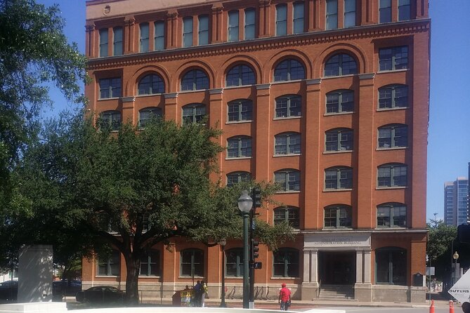 Formerly known as the Texas Book Depository Building.