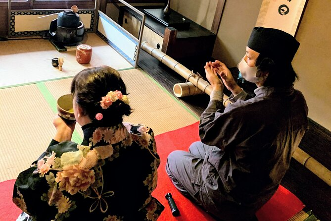 Japanese Tea Ceremony in authentic machiya house