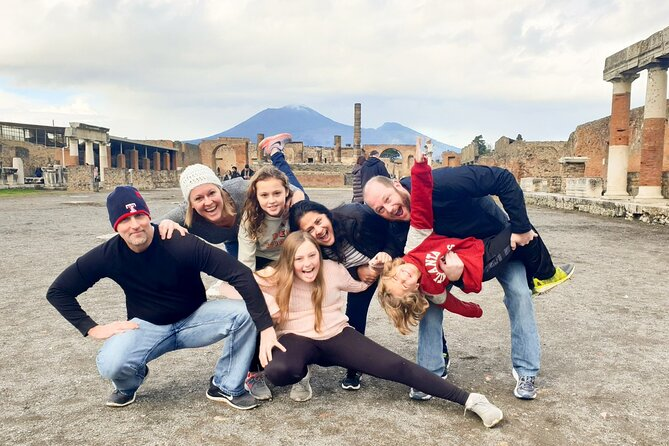 Pompeii, Herculaneum and wine experience on Mt Vesuvius with an archaeologist