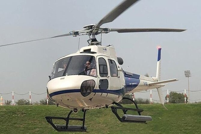 Helicopter tour with both way Private transfers