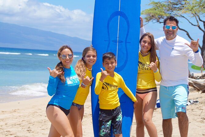Private Surf Lesson for Group of 3-5 Near Lahaina