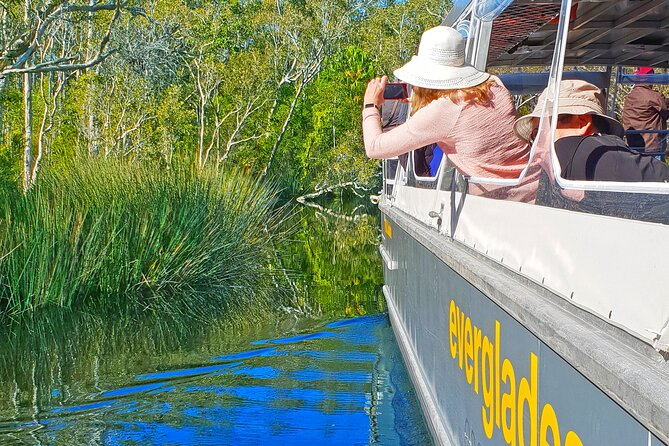 Noosa Everglades Serenity Cruise & Highlights Tour Inc. Lunch & Cruise