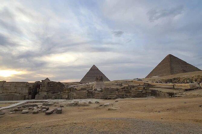 1-day tour ( Giza pyramids- Memphis-Saqqaraa - Dahshour )