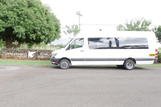 Private Round Trip Transportation to JW Marriott Guanacaste