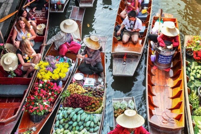 Damnoen Saduak Floating Market Small-Group Tour from Hua Hin