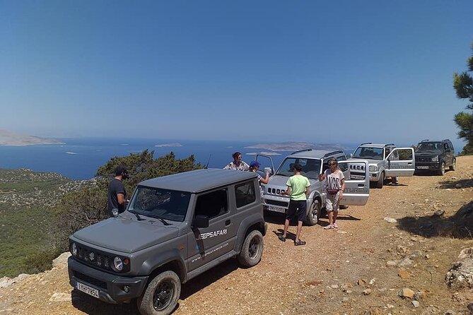 Self-Drive 4x4 Jeep Adventure to Apolakkia and Monolithos - pickups in the South