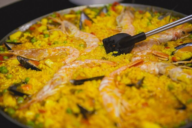 Live online from San Francisco: Cook Paella with simple pantry ingredients