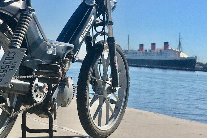 Long Beach California Vintage Moped Rental 24-Hour