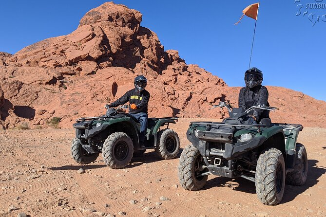 ATV Tour and Dune Buggy Chase Dakar Combo Adventure from Las Vegas