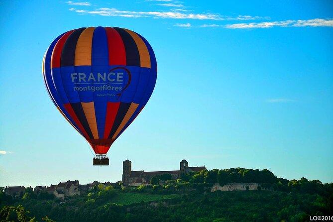 Burgundy Hot-Air Balloon Ride from Vezelay