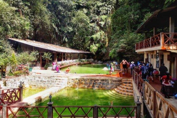 Quetzaltenango and Fuentes Georginas Hot Springs from Panajachel